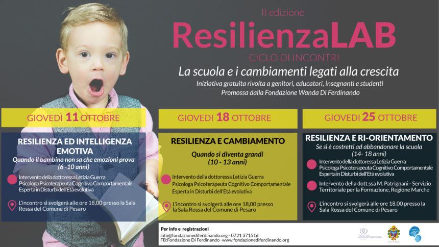ResilienzaLAB: la seconda edizione dedicata alla scuola!