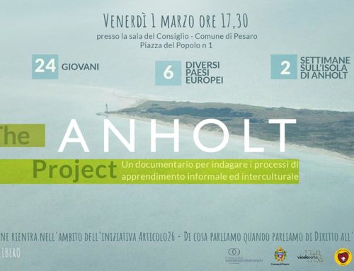 Proiezione The Anholt Project: 01.03.2019