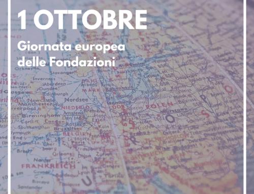 1 Ottobre: Giornata Europea delle Fondazioni