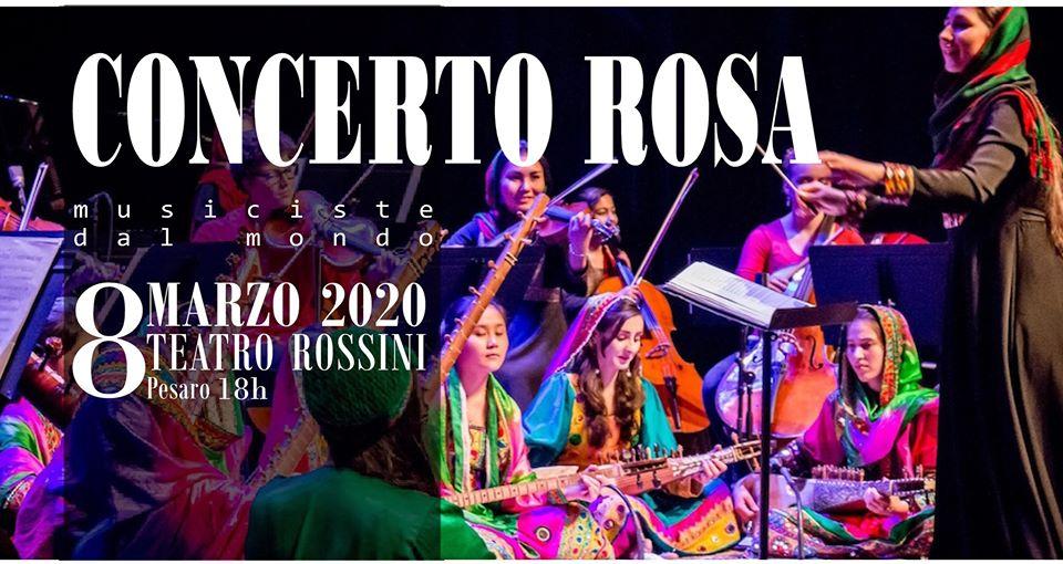 Concerto Rosa-Musiciste dal Mondo: Afghanistan, diritti, incontro