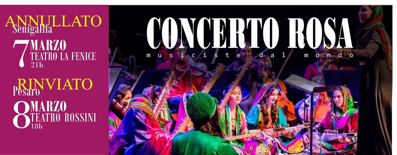 AVVISO VARIAZIONI: Concerto Rosa – Musiciste dal Mondo