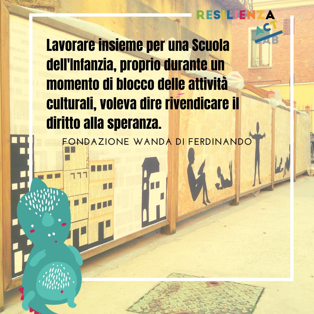 Resilienza ACT: la parola alla Fondazione Wanda Di Ferdinando